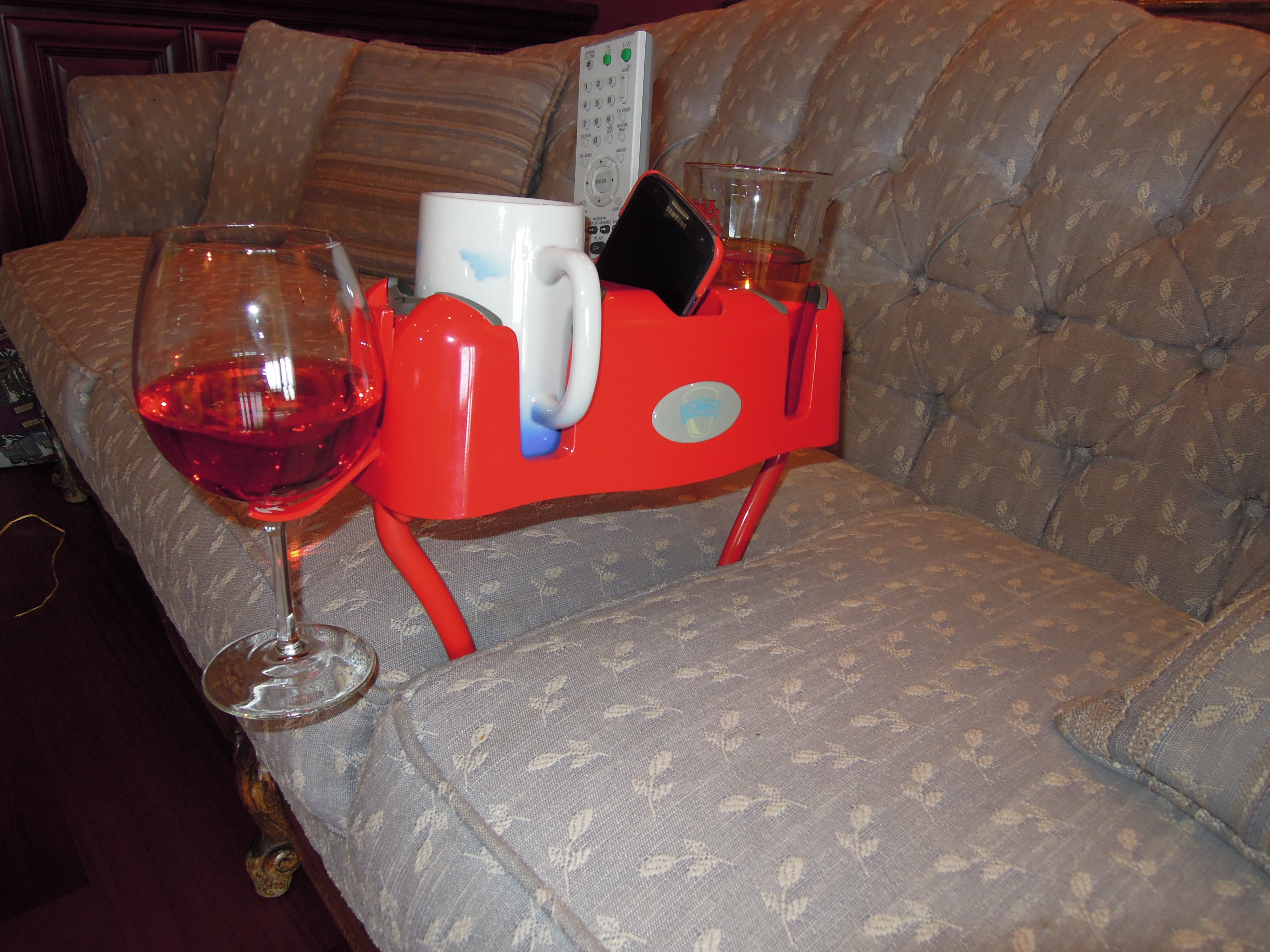 portable cup holder for sofa. Black Bedroom Furniture Sets. Home Design Ideas